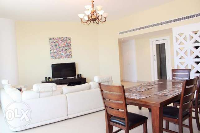 Spacious 2 Bedroom f/furnished Apartment in Sanabis