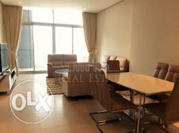 Fully furnished brand new 3-bedroom apartment with sea view.