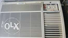Pearl window ac 2 ton with fixing,with delivery