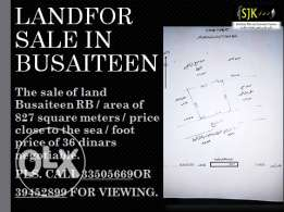 Land for sale in busaiteen