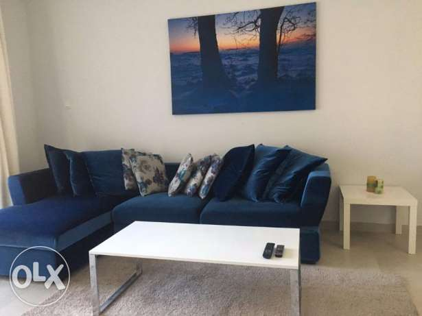 1 Bedroom apartment fully furnished with open Sea views
