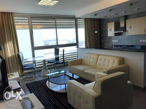 Remarkable 2 BR in Amwaj / Sea view