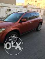 Nissan Murano 2005 good condition passing Mar 2017 accident free