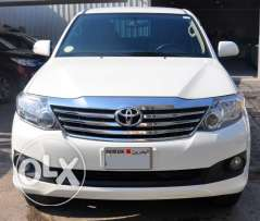 Toyota Fortuner 2014,good condition,non accident,provides bank loan..