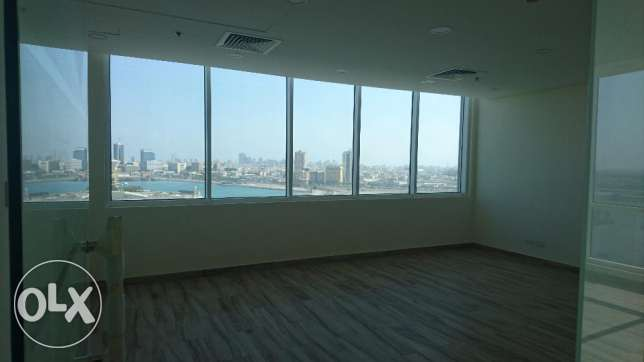 Office 120 sqm in business Bay tower Seef Area