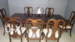 Royal 8 seater dining table like new condition