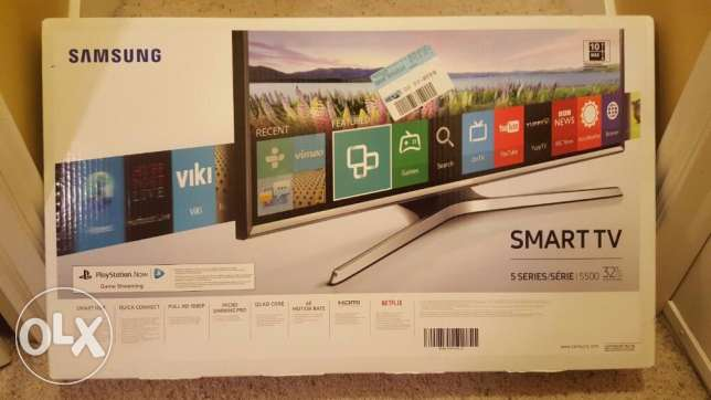 "Samsung 32"" LED Smart HDTV 1080P - UN32J5500AFXZA"