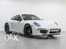 "Porsche 911 Carrera ""Approved"" White"