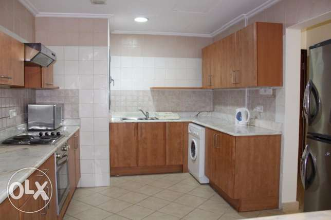Amazing flat for rent 2 bedroom in Juffair f-furnished