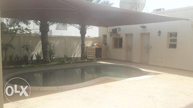 Spacious Commercial Private Villa For Rent in Mahooz with Pool,