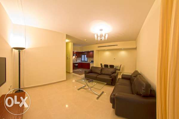 JUFFAIR-CENT AC-FURNISHED-2bedroom,2bath,hall,lift,kitchen,parking