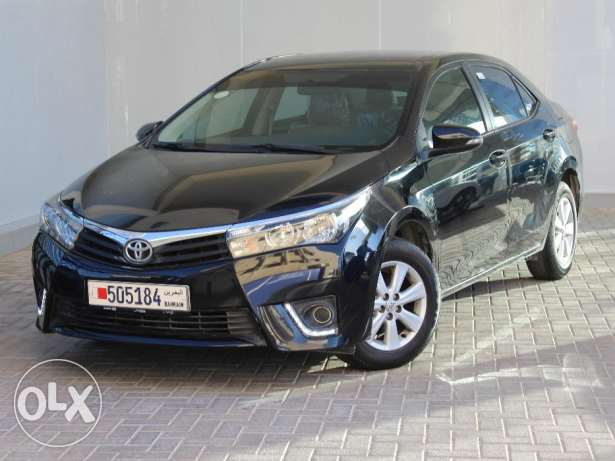 Toyota Corolla Xli 2015 Black For Sale