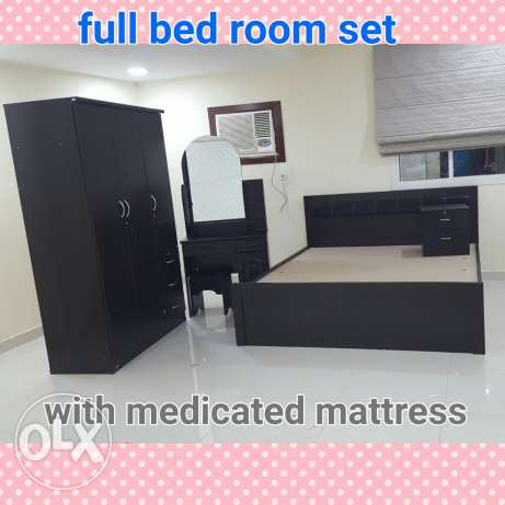Bed room set for sale with free delivery