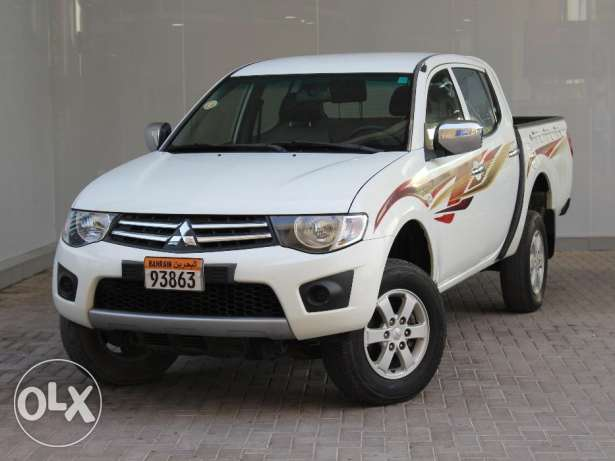 Mitsubishi L200 White Color 2014 For Sale