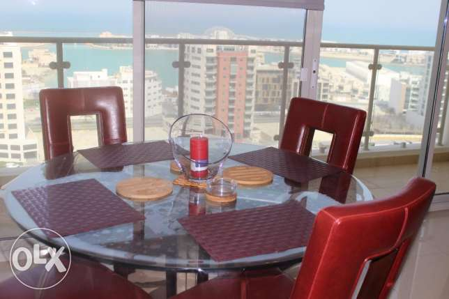 Splendid Sea view 2 BR in Amwaj / Balcony