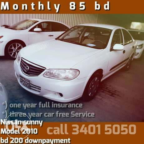 Easy get it cars From Loans Nissan Sunny 2010 Model . free car service