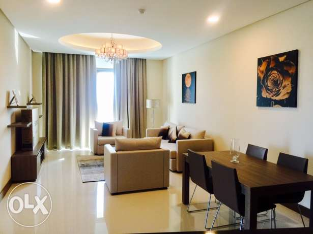 Brand new Two bedrooms apartment on Top floor.
