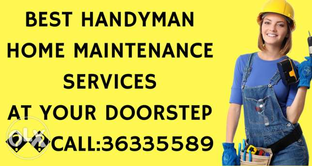 For painting services in Bahrain, Call Handyman