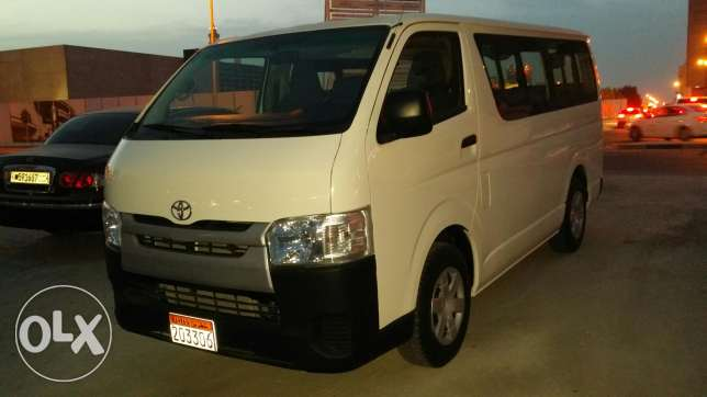 Toyota HiAce model 2015