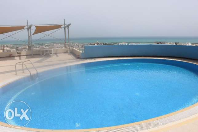 Sea view 3 BR in Amwaj / Balcony