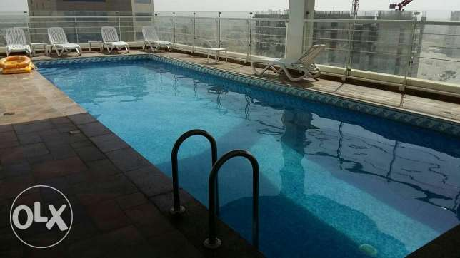 Seef / super 2 BHK apartment with super facilities السيف -  2