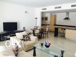 4 bedroom full furnish villa At Amwaj with maid's room BD. 1250/- M Ex