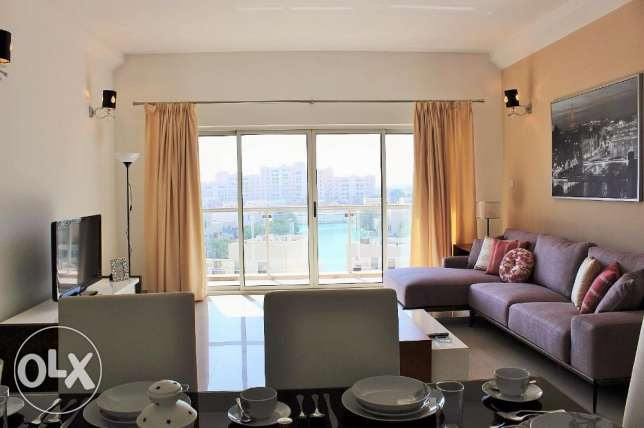 Newly Furnished 2 Bedroom Apartments in Amwaj