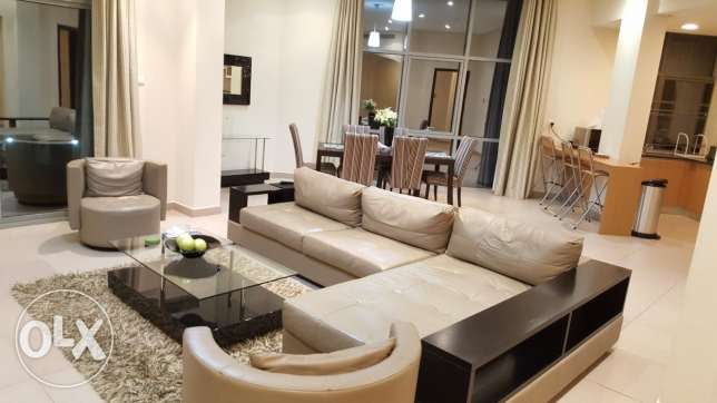 Super deluxe two BRoom apartment in seef with superior amenities