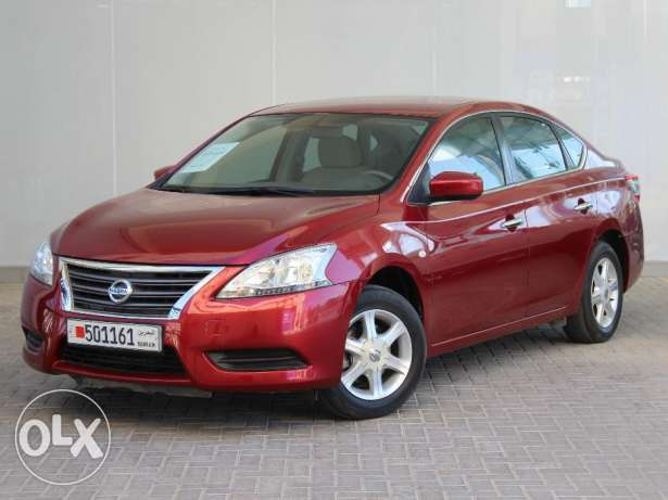 Nissan Sentra 1.8L 2015 Red For Sale