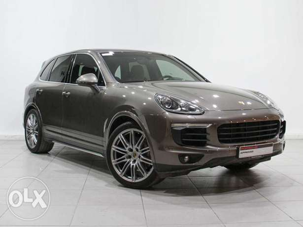 Porsche Cayenne S Approved 2015 UMBER