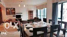 Juffair , very modern 2 bedroom fully furnished flat available for ren