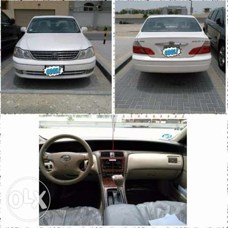 Urgent sale toyota avalon