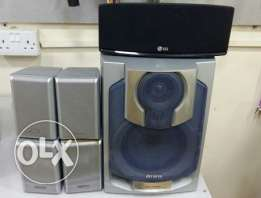 5.1 Channel Speaker And Subwoofer