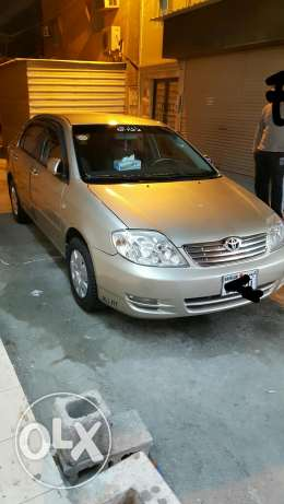 I want to sale my car corolla 2003