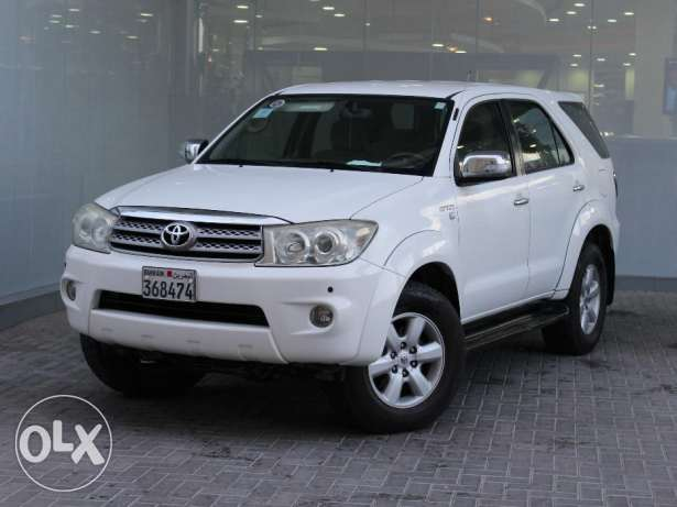 Toyota Fortuner 2.7L 2010 White For Sale