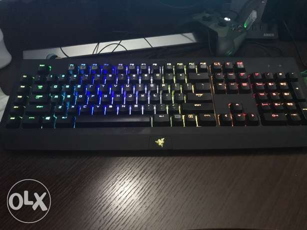 selling razer keyboard mouse and pad