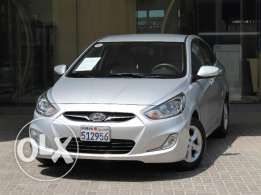 Hyunday Accent 2013 Silver Color For Sale