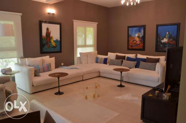 JANABIYA - 4 BDR furnished villa with maidroom/ 2 car garage