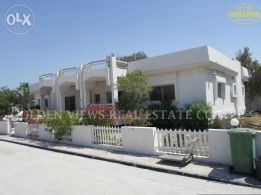 4 BR semi furnished villa for rent in saar with private garden,pl