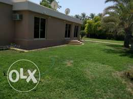 3 bedroom semi furnished villa for rent in saar with private garden