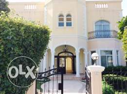 EXECUTIVE 5 bedroom semi furnished compound with pool & garden