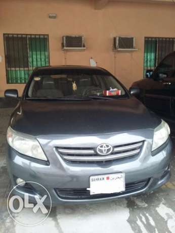 Toyota corolla XLI 1.8 2008 model available for sale