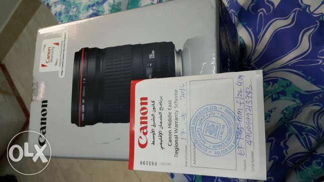 Canon 135mm f2 with warranty