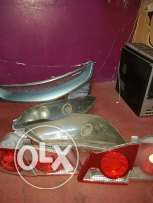 Honda civic lights and grill