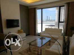 Flat for rent in seef 1 br inclusive