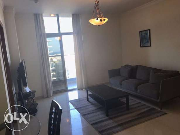 Fantastic 1 BR flat in Amwaj Sea view