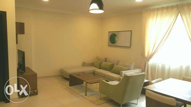 1bhk fully furnished luxury flat in adliya all inclusive Bd 400