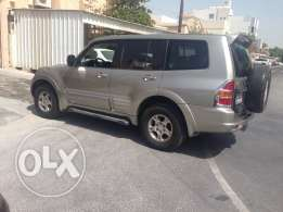 Pajero GLs model 2002 in good condition lees drive no single fault