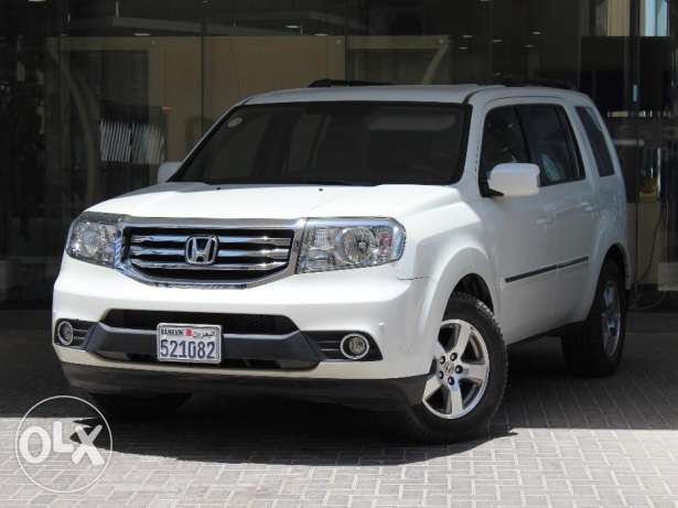 Honda Pilot EX 2015 White Color For Sale