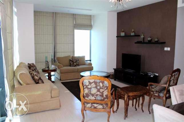 17SFA 3br fully furnished Apartment with balcony for rent in seef